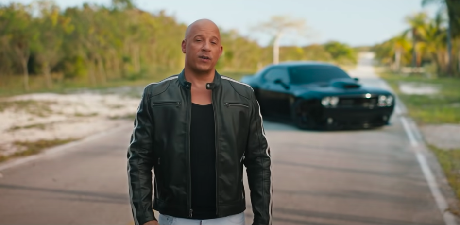WATCH: Vin Diesel Welcomes Americans Back to the Theatre in New Fast & Furious Trailer