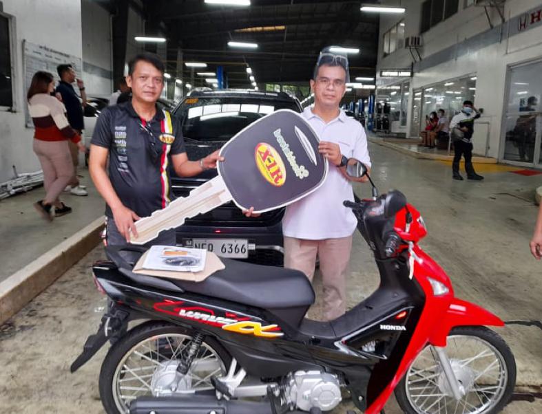 X-1R Philippines Win-A-Car Second Quarter Raffle Draw