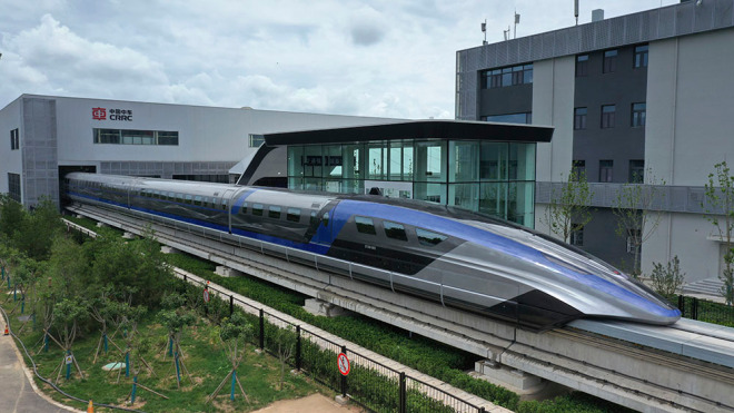 China Reveals World's Fastest Train; Top Speed of 600KPH
