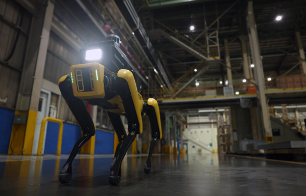 WATCH: Hyundai Has Gotten a New Factory Guard Dog…It's Yellow and Headless